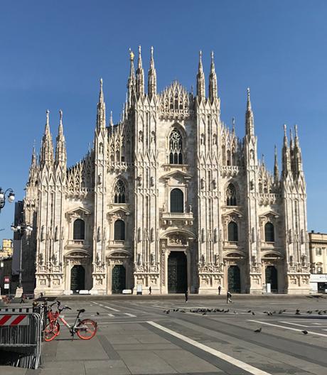 Designstadt Mailand steht plötzlich still