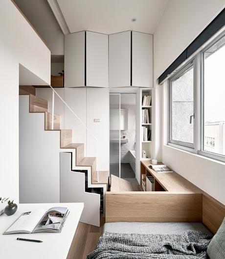 Über Mikroapartments, flexible Möbel und interessante Ansichten