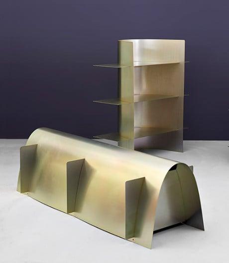 Hauchdünne Stahlmöbel von Paul Coenen.