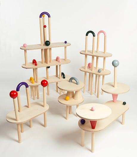 Mitspielen erlaubt: Möbel-Bausatz von Hana Ciliga.