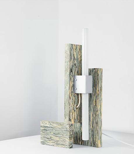 Das zweite Leben edler Abfälle: Leuchtenkollektion aus Lederresten von Jorge Penadés.