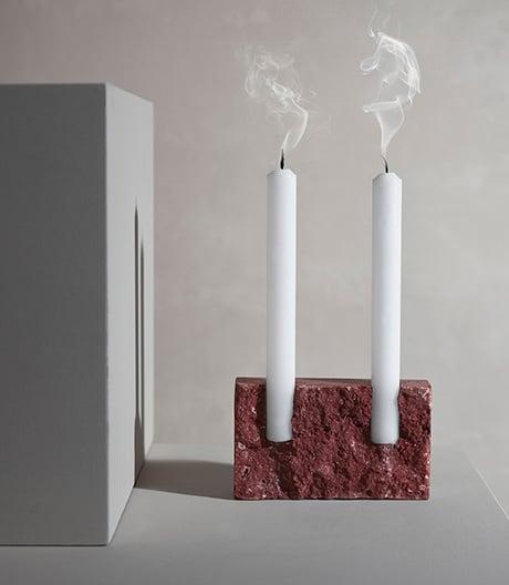 Geschichten in Schichten: Steine für Kerzen von Sanna Völker.