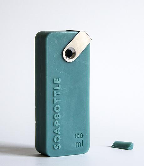 Ökologisch 2in1: Shampoo in der Seifenflasche.
