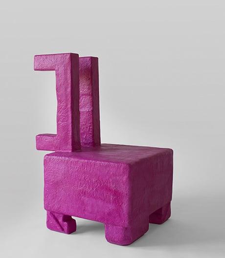 Vom Müll zum Möbel: Objektskulpturen von Savvas Laz.