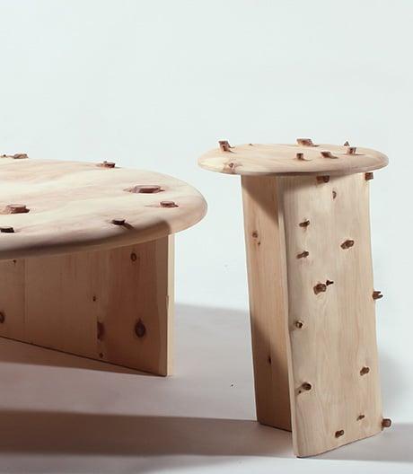 Vielauge zum Sitzen: Möbel von Sho Ota.