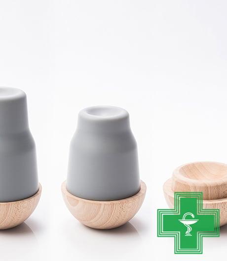 Angenehmer Umgang mit Medikamenten: eine spielerische Pillendose von Jungdesigner Quentin de Coster.