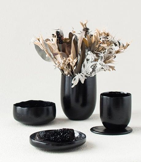 Überraschung im Detail: Gemüse und Knochenleim formt der Japaner Kosuke Araki zu schönen Silhouetten.