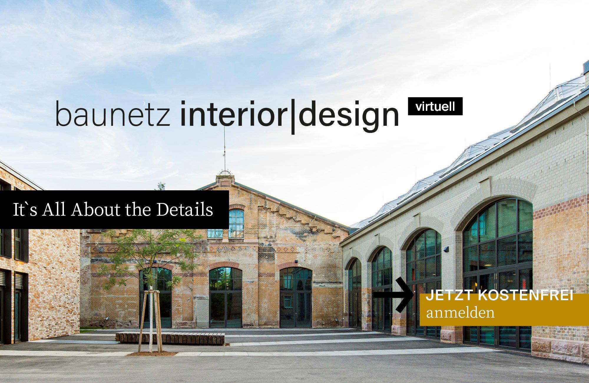 baunetz interior|design virtuell vom 10. bis 12. November