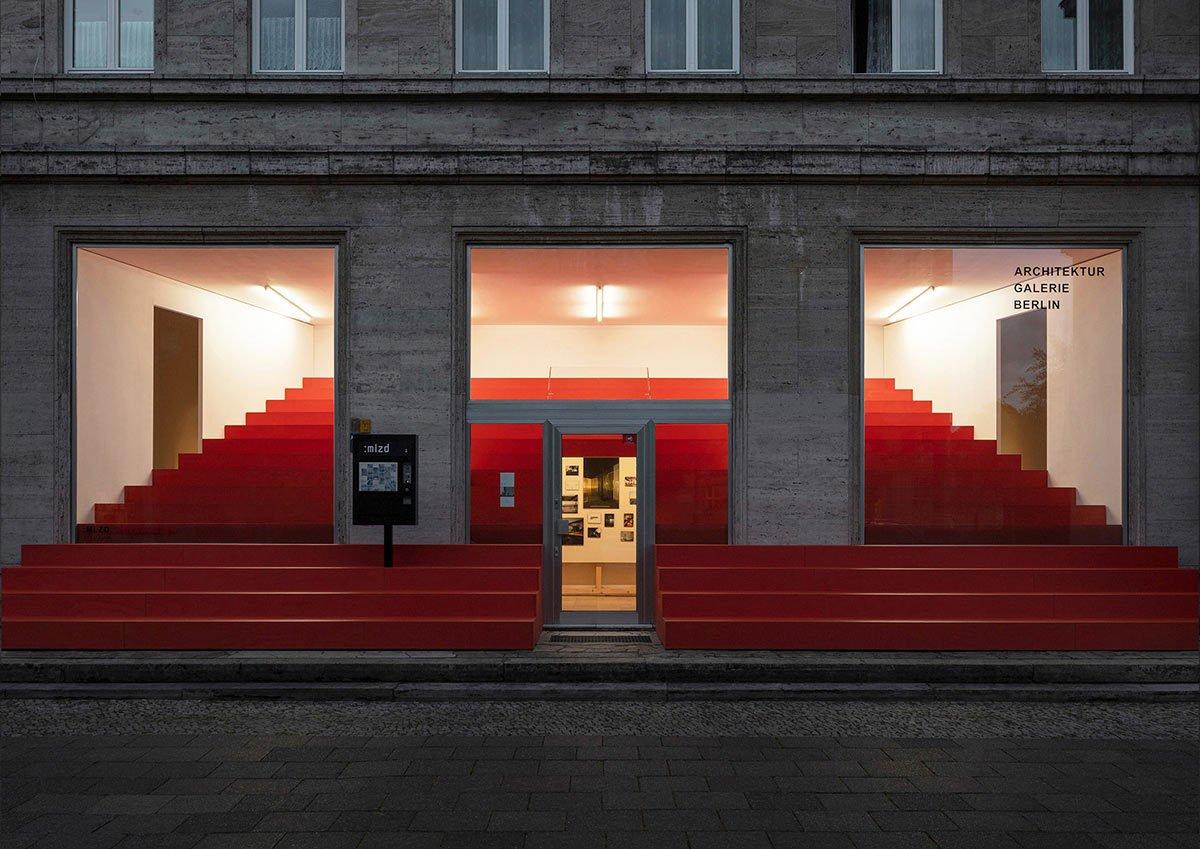 Spendenaktion der Architektur Galerie Berlin