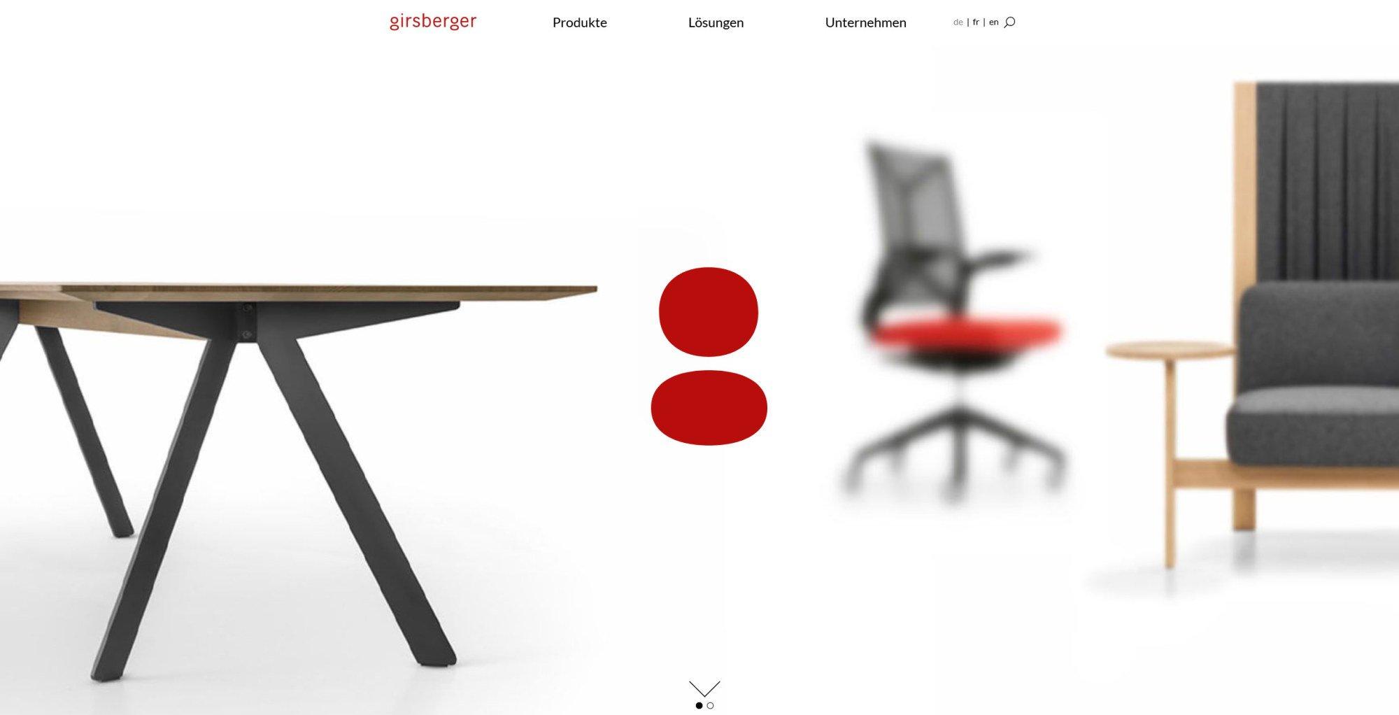 Schweizer Möbelhersteller in neuem Design