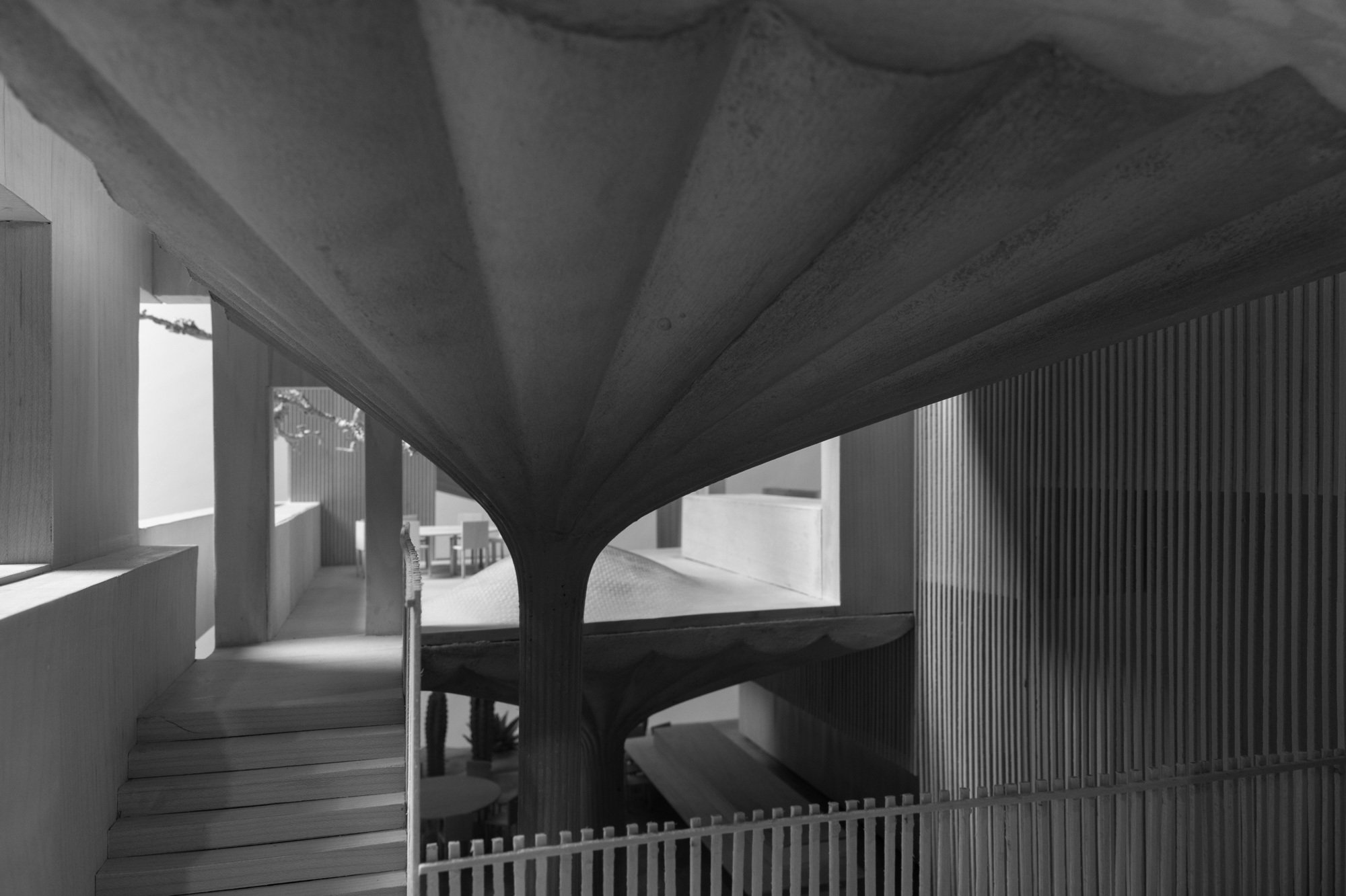 Architektonische Experimente in Material und Form