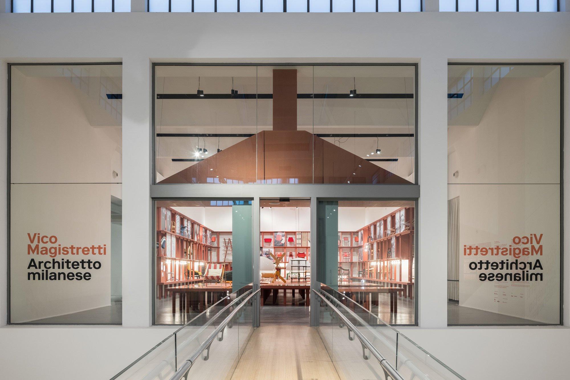 Retrospektive in der Triennale Milano