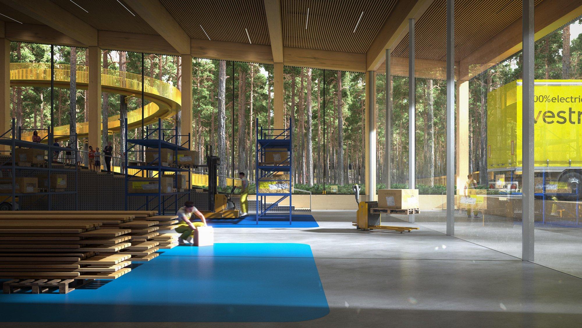 Der neue Bau von BIG für Vestre im norwegischen Magnor