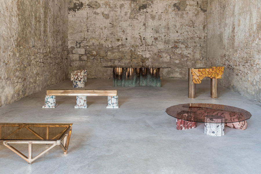 Roberto Sironi in der Athener Carwan Gallery