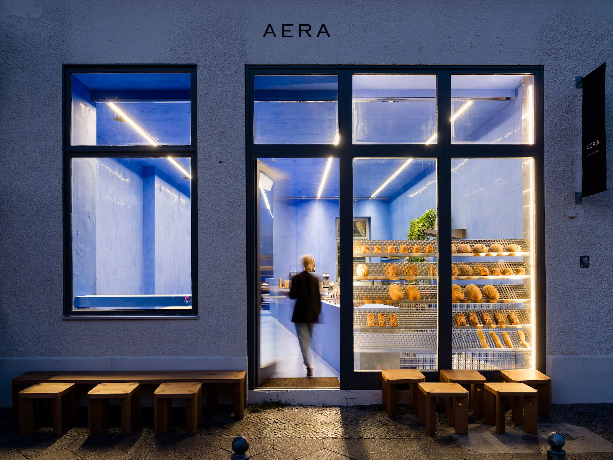 Brotmanufaktur Aera von Gonzalez Haase AAS in Berlin