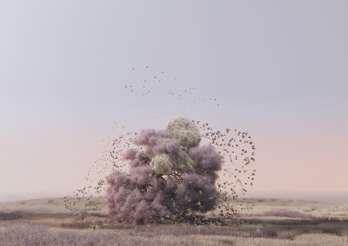 Digitale Gemälde von Andrés Reisinger