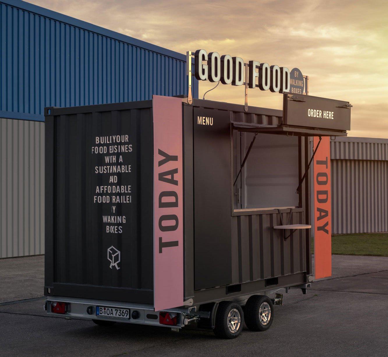 Mobile Küchen von Walkingboxes