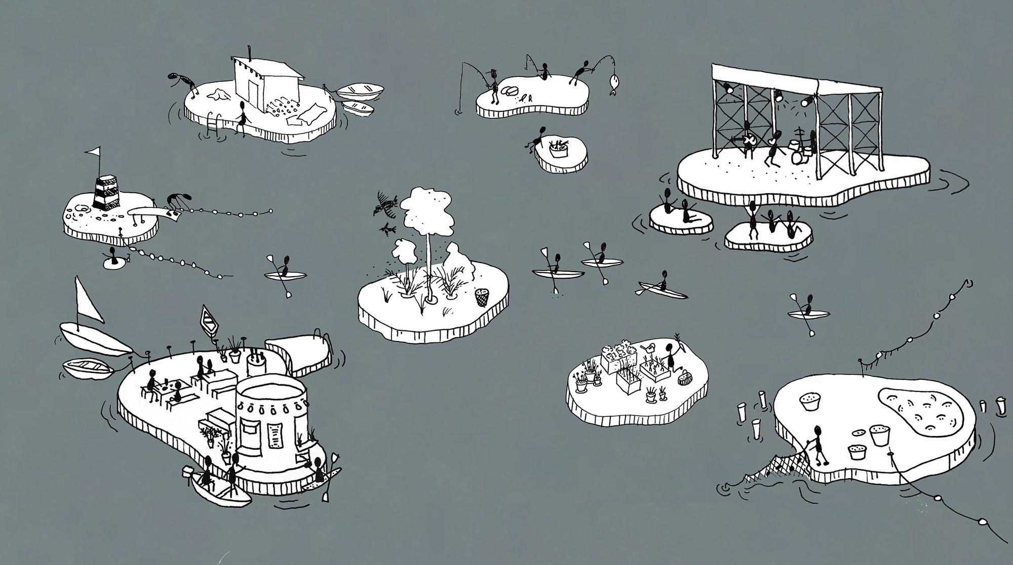 Insel-Konzept vor Kopenhagen wächst